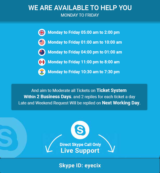 Skype Support