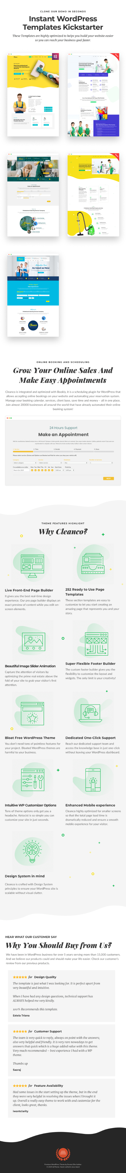 Cleanco 3.0 - Cleaning Service Company WordPress Theme - 1