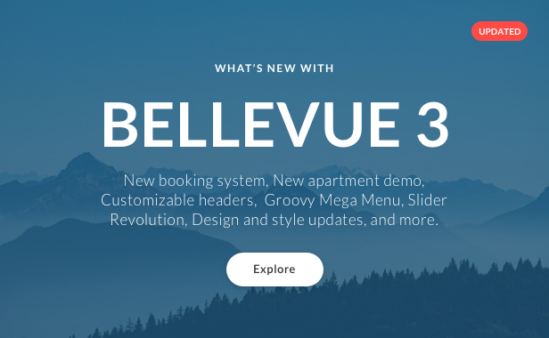 Hotel + Bed and Breakfast Booking Calendar Theme   Bellevue - 1