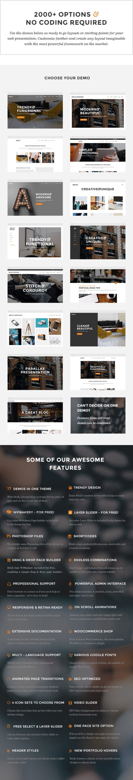 Brick - Digital Agency Theme - 1