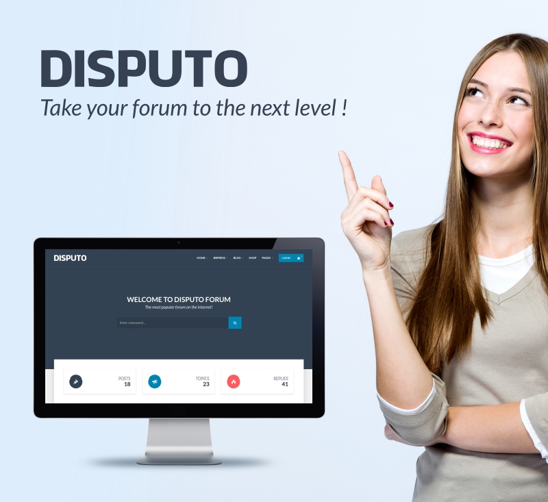 Disputo bbPress theme