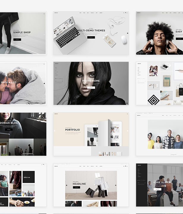 Dorian - Refined Multi-Concept WordPress Theme - 1