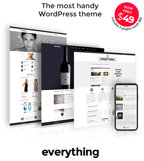 Everything - The most handy WordPress theme