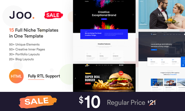 Invention Responsive Multi-Purpose WordPress Theme - 1