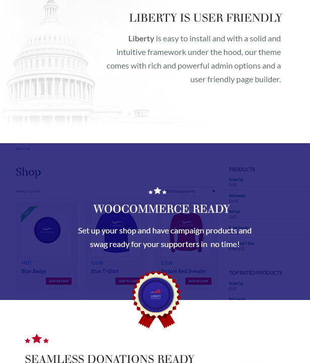 Liberty - Your Political WordPress Theme - 1
