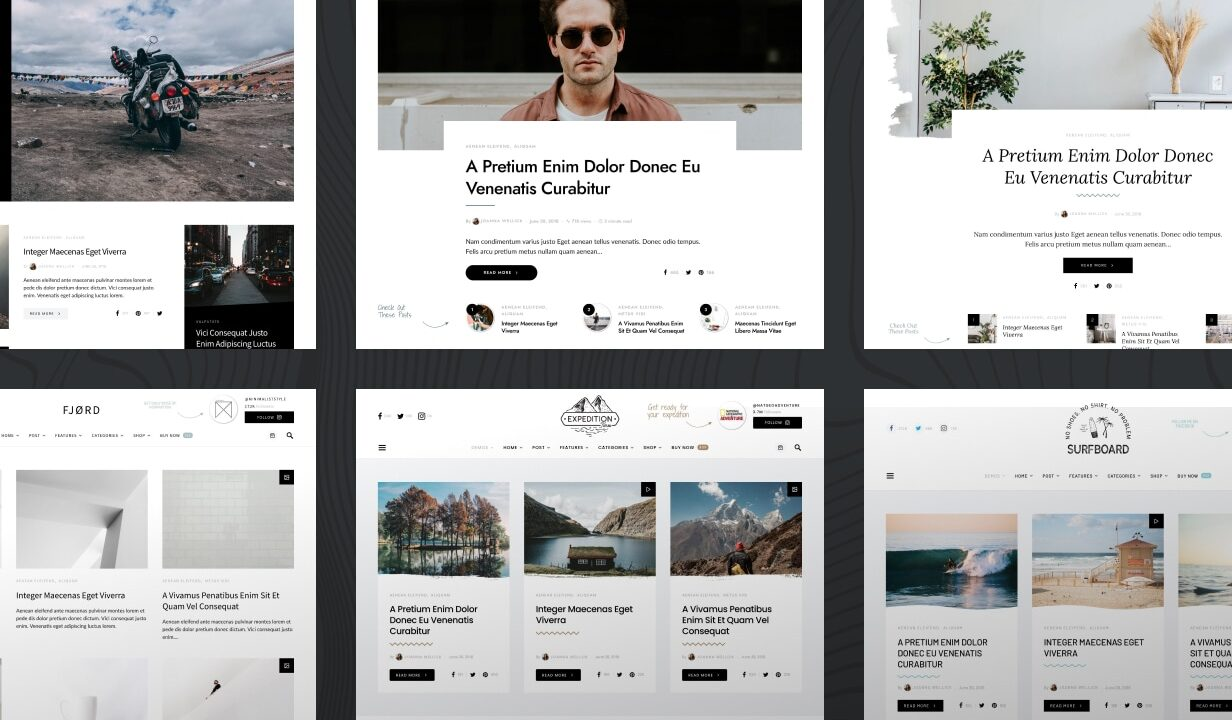 Overflow - Contemporary Blog & Magazine WordPress Theme - 1