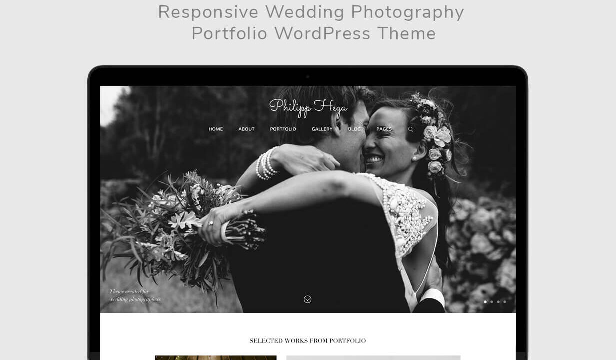 PH - Wedding Photography Portfolio WordPress Theme - 1