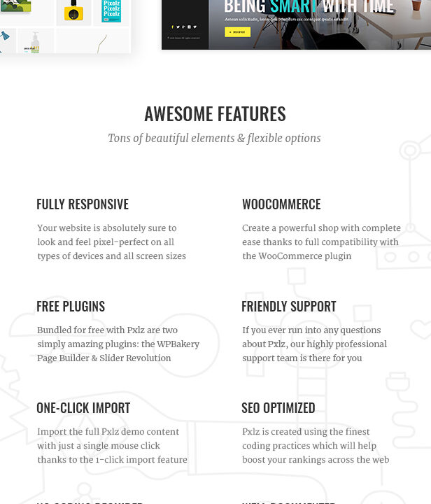 Pxlz - Creative Design Agency Theme - 1