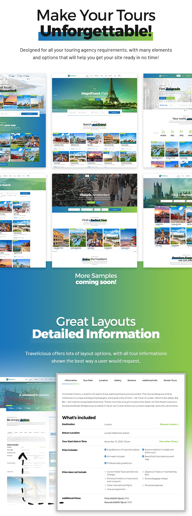 Travelicious - Tour Operator Theme - 1