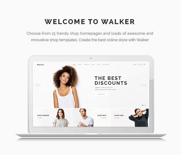 Walker - WooCommerce Theme - 1