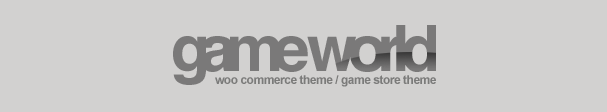 Wordpress GameWorld - Responsive WooCommerce Theme