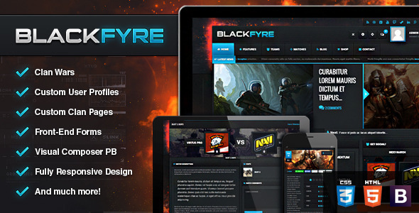 Blackfyre - Create Your Own Gaming Community