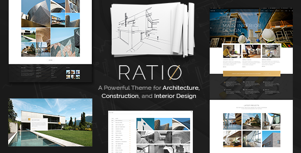 Ratio - A Powerful Interior Design and Architecture Theme