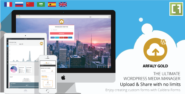 Arfaly Gold - Wordpress Upload, Approve & Share with no limit